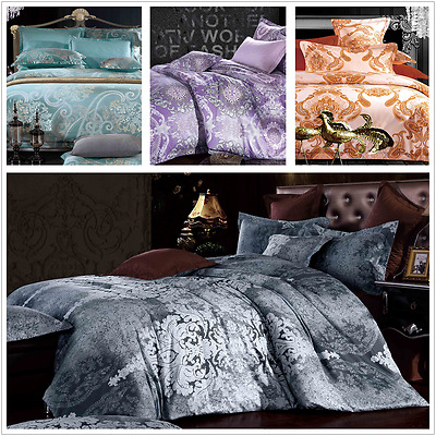 All Size New Doona Duvet Quilt Cover Set Empire Queen Prince Princess Palace