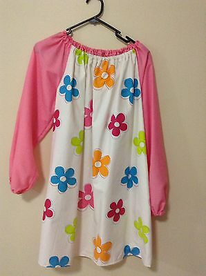 Kids Art Smock With Thermal Backing 12-14 For Extra Protection