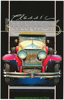 ROLLS ROYCE Gallery Print 23x35 POSTER 1930'S CLASSIC Automobile Nice CAR!