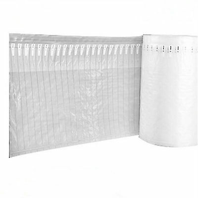 50m Air Inflatable Rolls Packaging Cushio Bag Bubble Wrap 30CM(H) with Pump