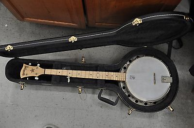 EXCELLENT CONDITIO Deering Good Times 5 String Resonator Banjo W/ HARD CASE