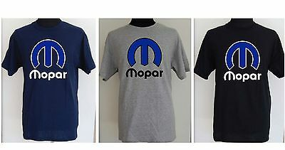 MOPAR  blue and white M  t-shirt S TO 2XL