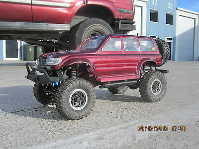 Colt 1/10 LC80 80 series Land Cruiser Crawler Clear Body CC-01 OZ RC Models