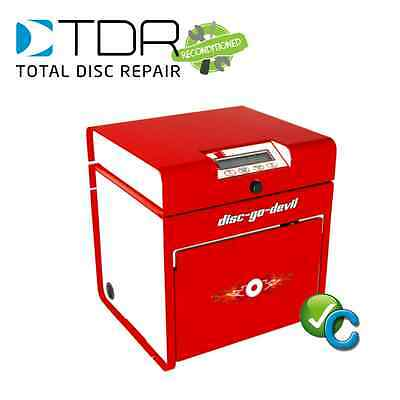 RECONDITIONED TDR Disc-Go-Devil DVD/XBOX/PS3 Disc Repair Machine + Supplies