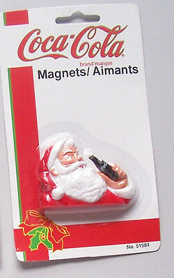 Coca-Cola Coke Santa Claus MAGNET New and Sealed Package FREE SHIP