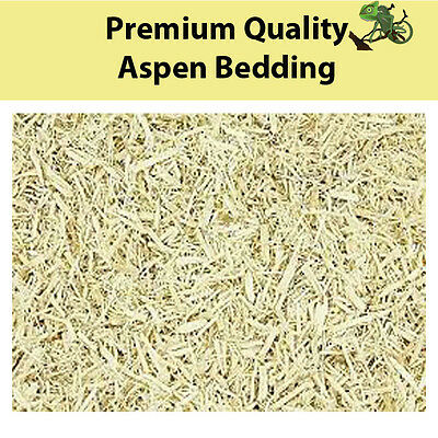 Premium Quality Aspen Bedding 20 Litres Snakes, Birds & Small Mammals*FREEPOST*