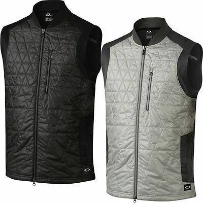Oakley Golf 2016 O-Hydrolix™ Rebellious Insulated Quilted Gilet Mens Golf Vest