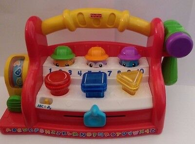 Fisher Price Laugh & Learn Learning Tool Bench Toy - SYDNEY