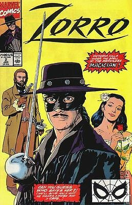 Zorro (1990 Marvel) #2 VG LOW GRADE