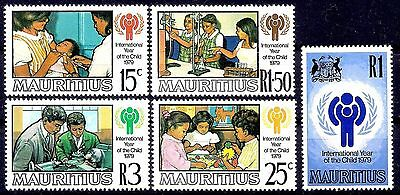 Mauritius 1979 IYC/Year of Child Children Vaccine Health Education Chemistry MNH