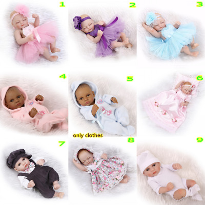 High Quality 10-11'' Reborn doll Clothes Baby Clothes Accessories Handmade Toy