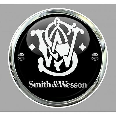 Sticker Smith & Wesson Trompe-l'oeil°