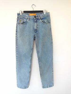 90s Vintage Blue Jeans Straight Fit 28/30