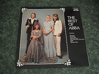 "ABBA The Very Best Of Rare Aussie Oz Unique Sleeve Vinyl Lp"" Record STUNNING"