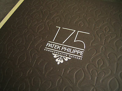 PATEK PHILIPPE BOOK - 175 Year Anniversary Limited Edition 2014 Brochure Book