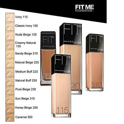 Maybelline Fit Me Foundation 30mL - Choose Your Shade