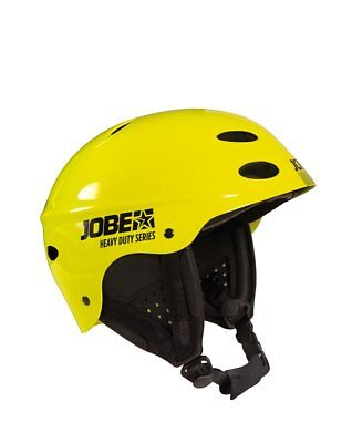Jobe Heavy Duty WAKE Helmet Yellow Helm Wakeboardhelm Kitehelm Surfhelm