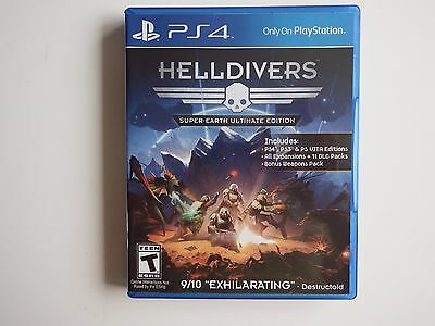 Helldivers: Super-Earth Ultimate Edition on PS4 in MINT condition