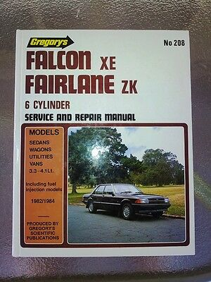 Ford Falcon XE and Fairlane ZK Workshop Manual