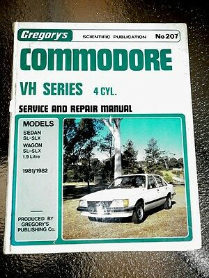 Holden Commodore VH Workshop Manual