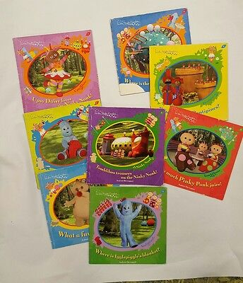 in the night garden 8 books bundle