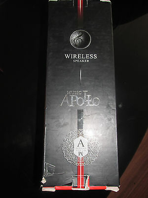 Music Apollo Wireless Bluetooth Speaker 3D Stereo Sounds NEW