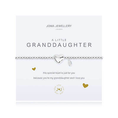 A Little Granddaughter Bracelet - Silver Plated Joma Jewellery Gift for Her