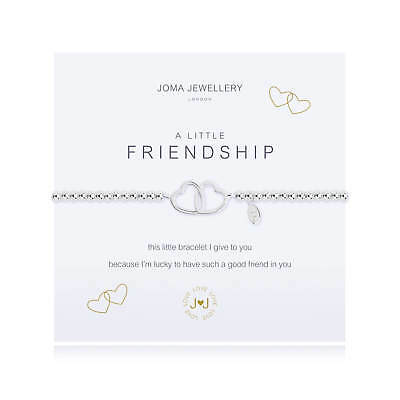 A Little Friendship Bracelet - Silver Plated Joma Jewellery Gift for Her