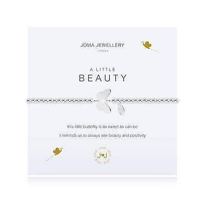 A Little Beauty Butterfly Bracelet - Silver Plated Joma Jewellery Gift for Her
