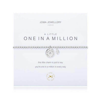 A Little One in a Million Bracelet - Silver Plated Joma Jewellery Gift for Her