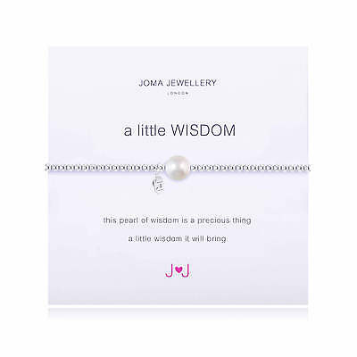 A Little Wisdom Bracelet - Silver Plated Joma Jewellery Gift for Her