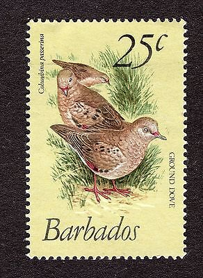 1979 Barbados 25c Scaly breasted ground dove SG629 FINE USED R31087