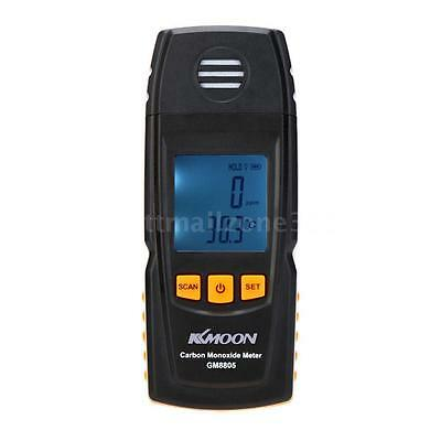 LCD Handheld Carbon Monoxide Detector CO Gas Test Meter MAX MIN Review US Stock