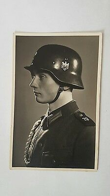 Wwii german photo card soldier 79th Infantry Sea lion - Stalingrad.