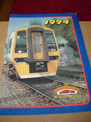 Bachmann Model Railways Toy Catalogue 1994 Uk Edition Excellent For Age