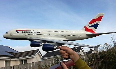 British Airways Airbus A380 model 1/100 scale