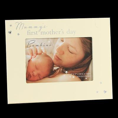 Bambino Cream Unisex Photo Frame – Mummy's first Mother's Day