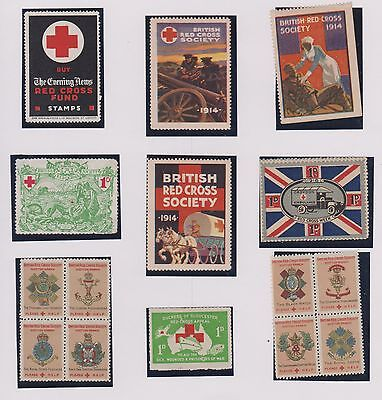 Red Cross. British Labels
