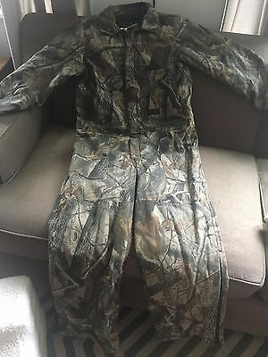 Youth Insulated LIBERTY RUGGED OUTDOORS Camo Coveralls RealTree Youth 16 Regular