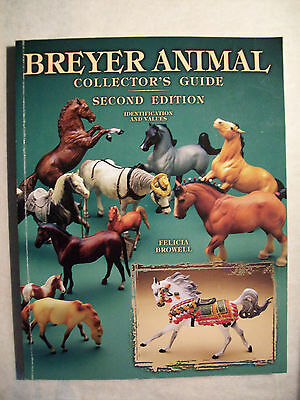 BREYER MODEL HORSES AND ANIMALS PRICE GUIDE BOOK Color Pics with Price Values