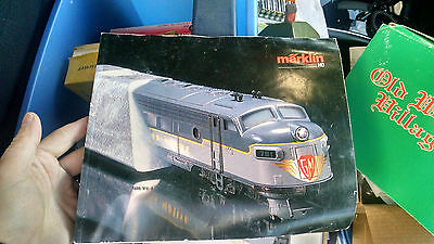 Lot of more than 7 Vintage Marklin Jouef Tyco and other Toy Train Catalogs