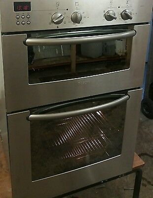 Bosch Stainless Steel,electric Built In  Double Oven. Excellent Condition.