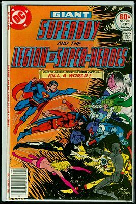 DC Comics SUPERBOY And The LEGION Of SUPER-HEROES #231 VFN- 7.5
