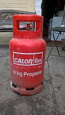 propane gas bottle 6kg with gas regulator