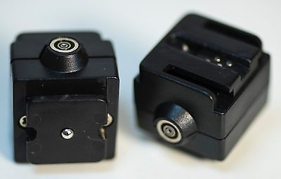 2 Pieces Flash Hot shoe Mount adapter Mount Sony Alpha Flash to Radio Triggers