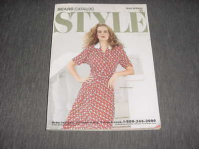 Sears STYLE catalog spring 1990