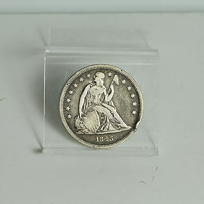 1843 Liberty Seated Dollar - Fine Details (#4808)