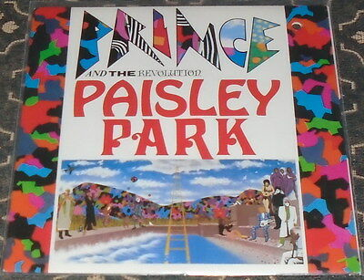 """Prince and The Revolution : Paisley Park,7"""",im Bildcover"""