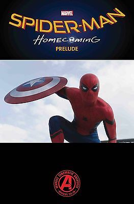 Spider-Man Homecoming Prelude #1 Of 2 Marvel Comics First Print Pre-Order 2/3/17