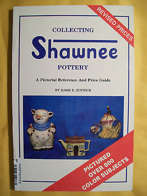 SHAWNEE POTTERY $$$ id PRICE VALUE GUIDE Collector's Book 800+ Picture's Color